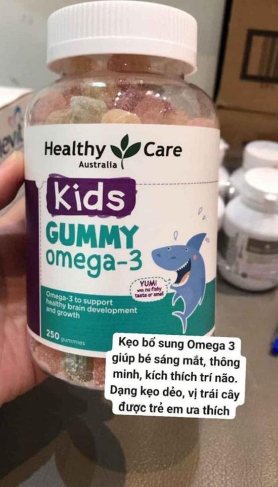 Kẹo dẻo Omega 3 Gummy Healthy Care hộp 250 viên của Úc 1
