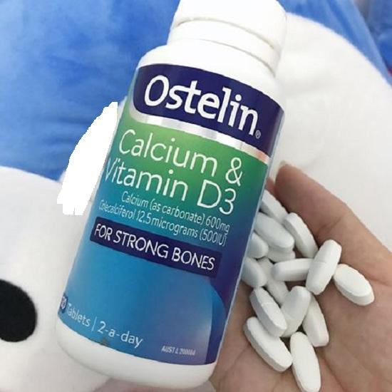 Viên bổ sung canxi Ostelin Calcium & Vitamin D3 Úc 130 viênv 4