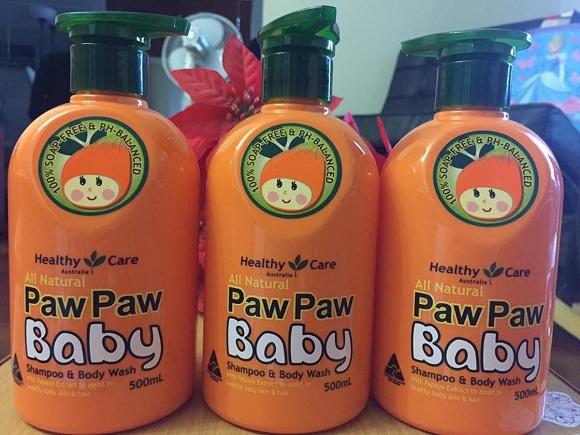 Sữa tắm Paw Paw Baby Healthy Care 500ml của Úc giá tốt 2