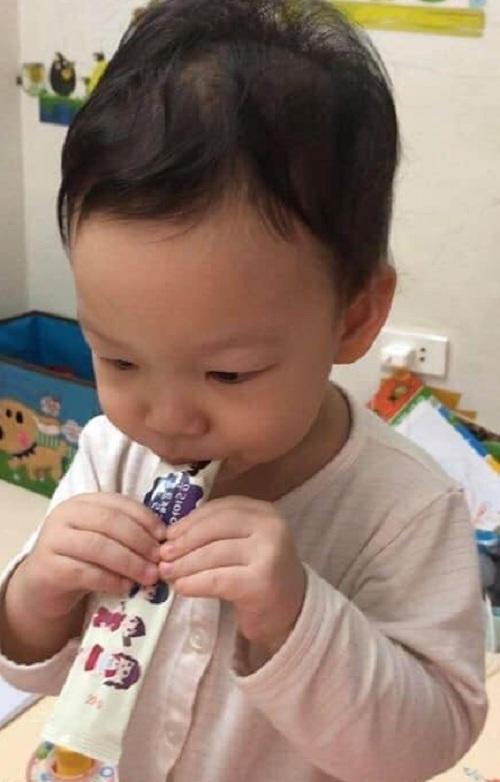 Thạch sâm baby Sanga của Hàn Quốc, Hộp 14 gói x 20g giá tốt 4