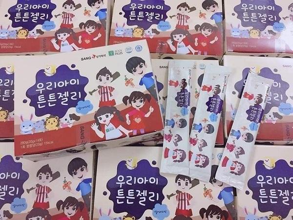 Thạch sâm baby Sanga của Hàn Quốc, Hộp 14 gói x 20g giá tốt 8