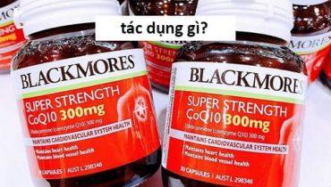 Viên uống Super Strength Coq10 300mg có tác dụng gì?