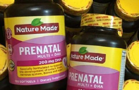 Cách sử dụng thuốc Nature Made Prenatal Multi + DHA hiệu quả