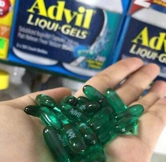 Advil Liqui Gels 200mg - Thuốc giảm đau của Mỹ 200 viên 3