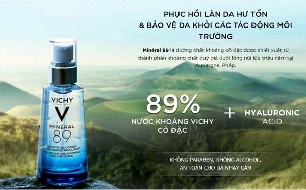Dưỡng chất khoáng cô đặc Vichy 89 50ml giá bao nhiêu? 6