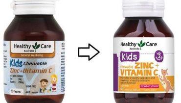 Viên nhai Healthy Care Zinc + Vitamin C giá bao nhiêu?