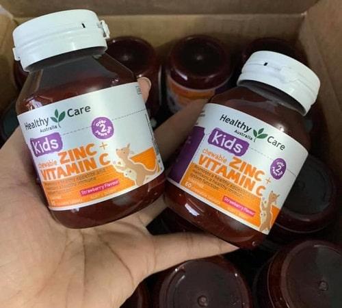 Viên nhai Healthy Care Zinc + Vitamin C giá bao nhiêu-2