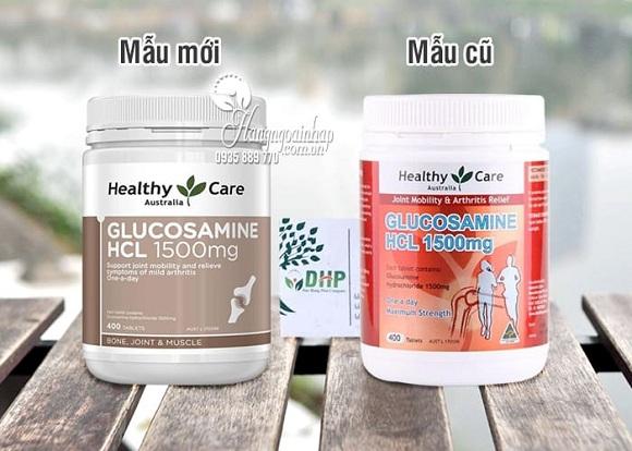 Glucosamine HCL 1500mg của Úc Healthy Care hộp 400 viên 9