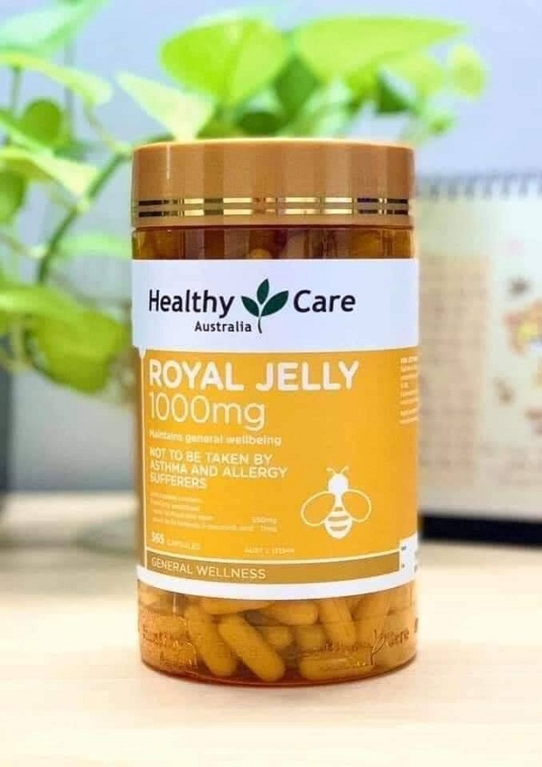 Healthy Care Royal Jelly 1000mg Australia - Sữa ong chúa Úc 1