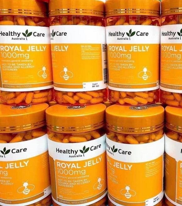 Healthy Care Royal Jelly 1000mg Australia - Sữa ong chúa Úc 9