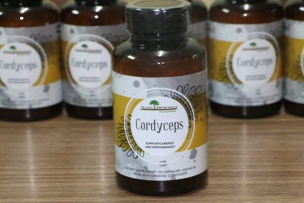 Đông trùng hạ thảo Pure Cordyceps Aloha mẫu mới 90 viên 6