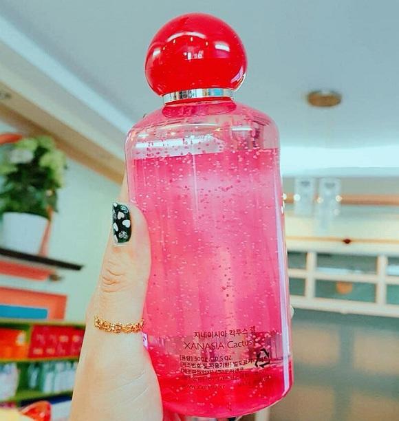 Gel dưỡng ẩm Xanasia chiết xuất xương rồng đỏ của Hàn Quốc 9