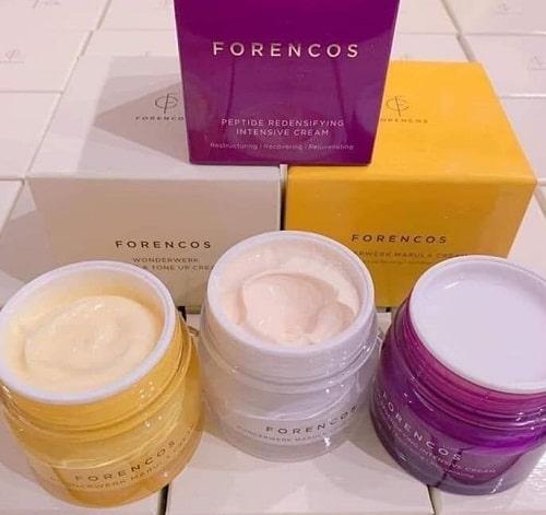 Kem Forencos có mấy loại? Công dụng của từng loại là gì?
