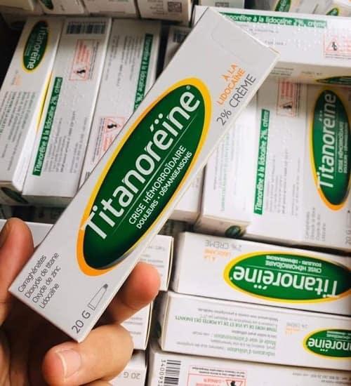 Thuốc bôi trĩ Titanoreine giá bao nhiêu? Titanoreine mua ở đâu?-3