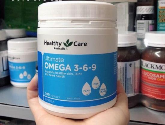 Omega 3-6-9 Úc mẫu mới Healthy Care 200 viên chính hãng 6