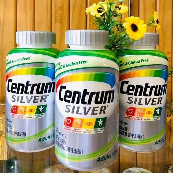 Centrum Silver Multivitamin for Adults 50+ cho người lớn 1