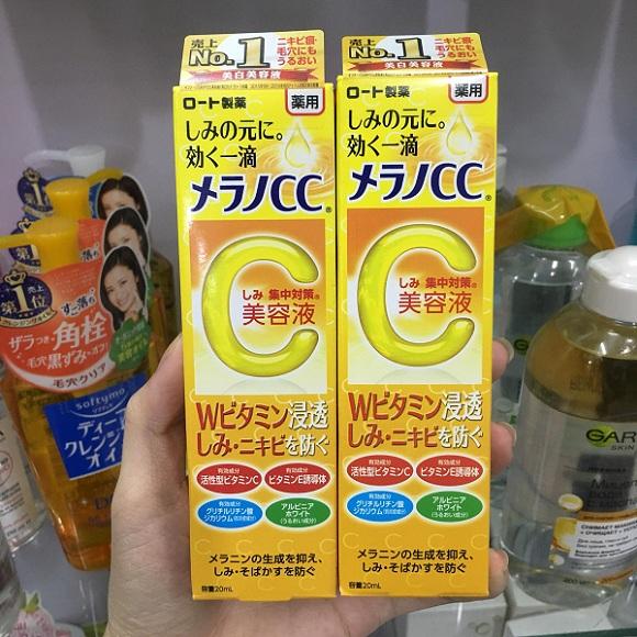 Serum Vitamin C Melano CC Rohto 20ml của Nhật Bản 1