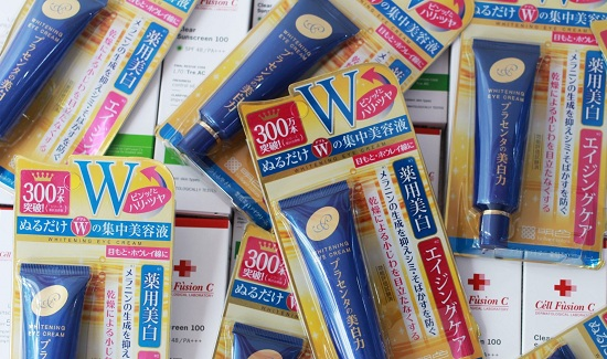 Meishoku Whitening Eye Cream - Kem mắt cao cấp của Nhật 0