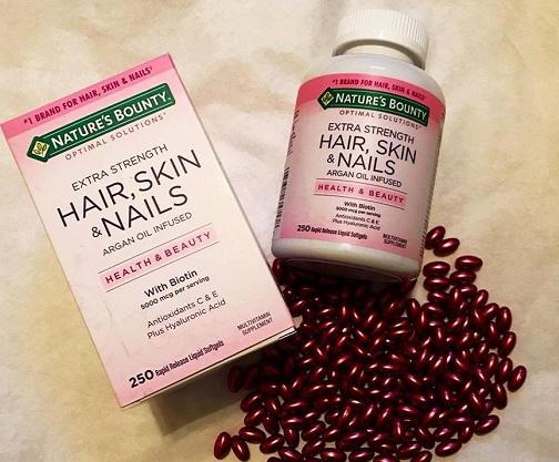 Thực phẩm chức năng Hair, Skin & Nails Nature's Bounty 8