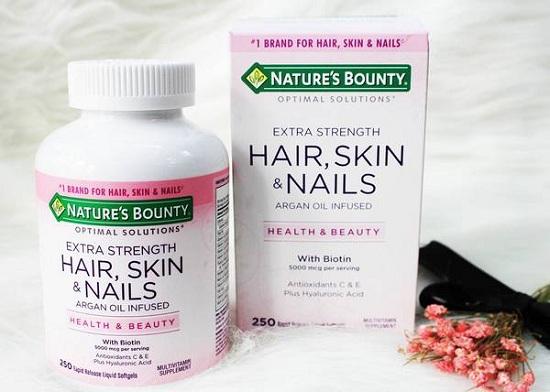 Thực phẩm chức năng Hair, Skin & Nails Nature's Bounty 7