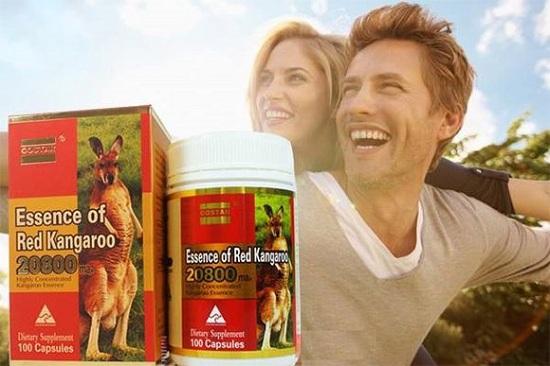 Essence of Red Kangaroo chính hãng 20800 max của Úc 9