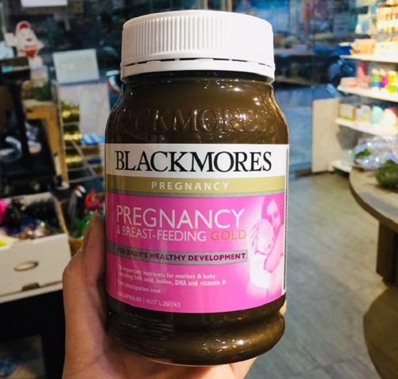Viên vitamin cho bà bầu Úc Blackmores Pregnancy Gold 0