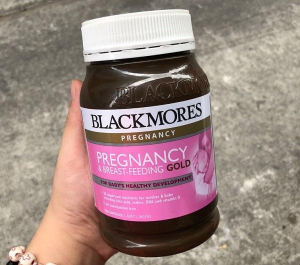 Viên vitamin cho bà bầu Úc Blackmores Pregnancy Gold 4