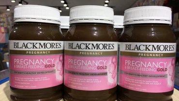 Vitamin bầu Blackmores Pregnancy Gold uống khi nào?
