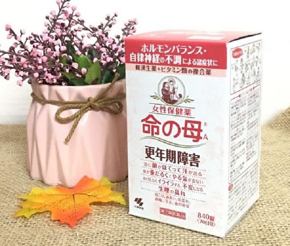Viên uống tiền mãn kinh Nhật Bản Kobayashi 420 viên, 840 viên 0