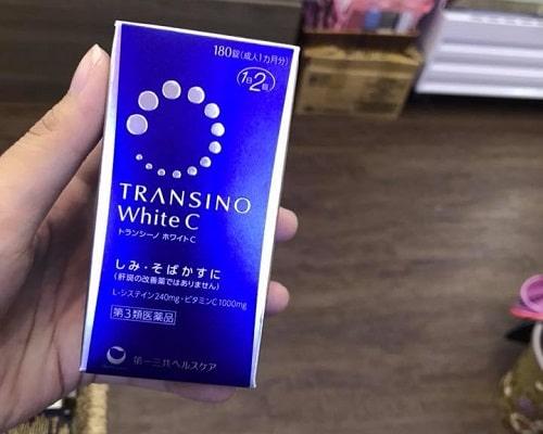 Viên uống trị nám Transino White C giá bao nhiêu?-2