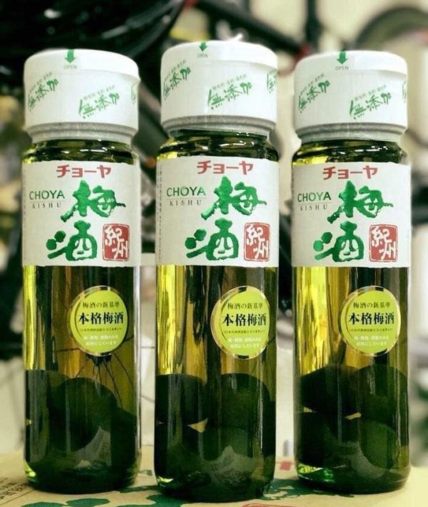 Rượu mơ Choya Nhật - Chai 720ml - Rượu tốt cho sức khỏe 1
