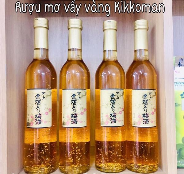 Rượu mơ vảy vàng review chi tiết - Rượu mơ Nhật Bản 1