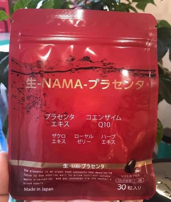 Viên uống nhau thai tươi Namapla 10 của Nhật Bản gói 30 viên 1