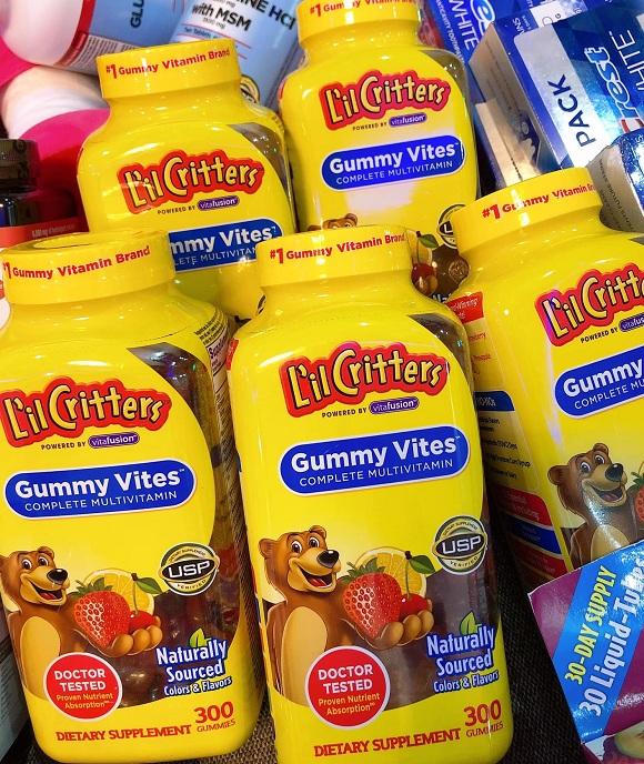 Kẹo dẻo Gummy Vites cho bé mua ở đâu giá tốt nhất? 5