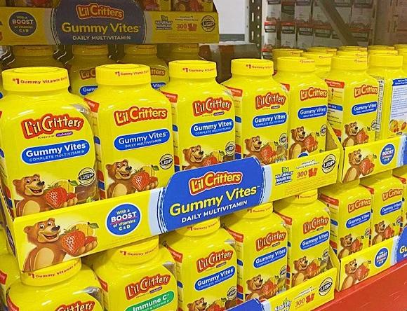 Kẹo dẻo Gummy Vites cho bé mua ở đâu giá tốt nhất? 00