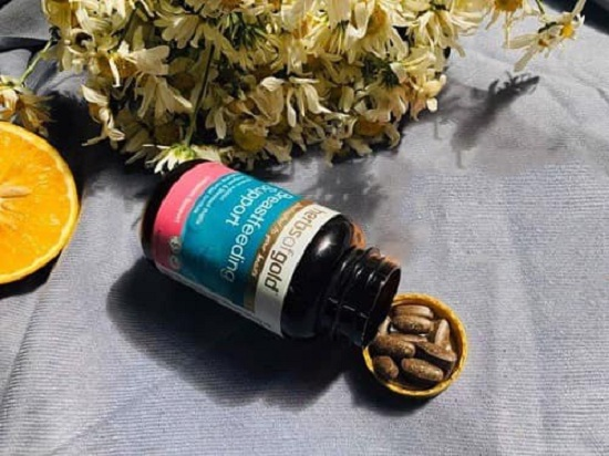 Review viên uống lợi sữa Herbs of Gold Breastfeeding Support 8