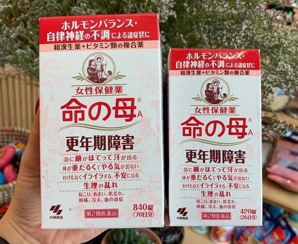 Thuốc tiền mãn kinh Kobayashi của Nhật có tốt không? 8