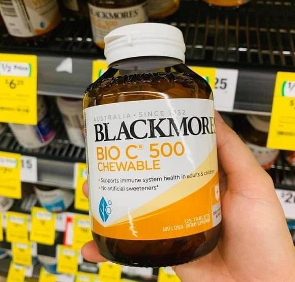 Viên nhai Vitamin C Chewable Blackmores có tốt không? 0
