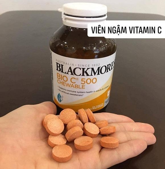 Viên nhai Vitamin C Chewable Blackmores có tốt không? 6