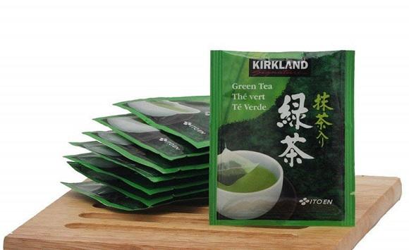 Cách sử dụng trà xanh Green Tea Kirkland hiệu quả