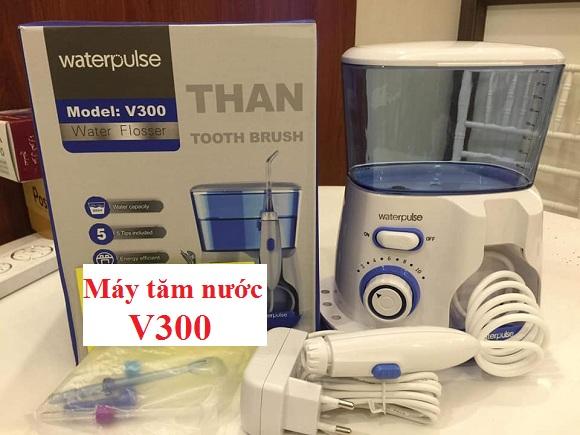 Review máy tăm nước gia đình Waterpulse V300 chi tiết 4