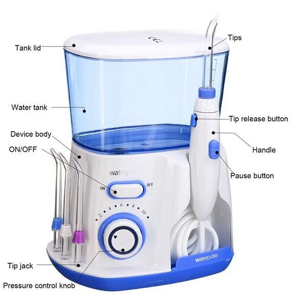 Review máy tăm nước gia đình Waterpulse V300 chi tiết 1