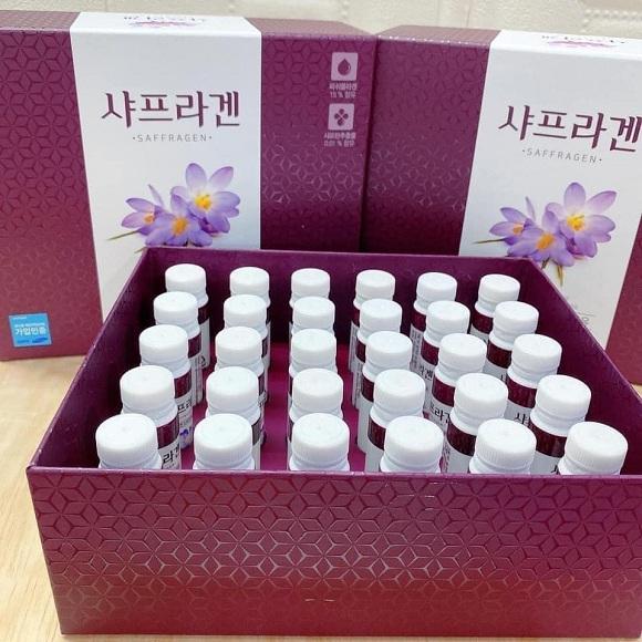 Cách uống Collagen nhụy hoa nghệ tây Hàn Quốc 0