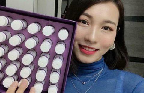 Cách uống Collagen nhụy hoa nghệ tây Hàn Quốc