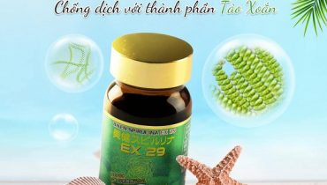 Tác dụng của tảo xoắn Biken Spirulina EX 29 là gì?